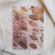 Load image into Gallery viewer, Ecoprinted Journal | Pink Mangsi