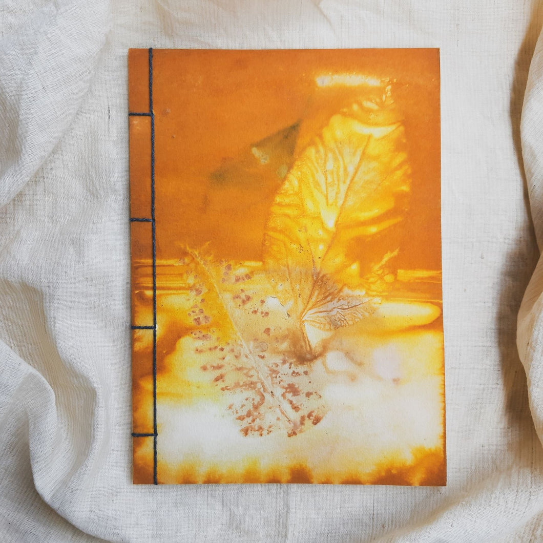 Ecoprinted Journal | The First Sunrise