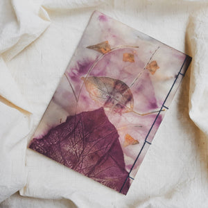Ecoprinted Journal | Tectona Mari