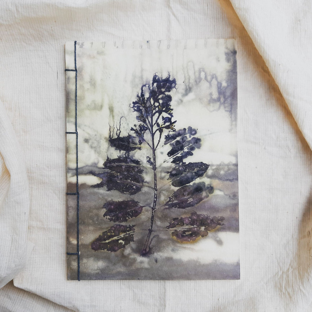 Ecoprinted Journal | Emas Legam