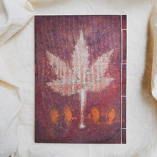 Load image into Gallery viewer, Ecoprinted Journal | Magenta Acetosella