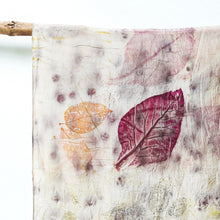 Load image into Gallery viewer, UMA Bundle-Dyed Medium Silk Scarf - Teak Charm