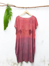 Load image into Gallery viewer, VIOLET SONNET | Plant-Dyed Organic Cotton Tunic Dress