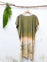 Load image into Gallery viewer, GARDEN OF TWIN STARS | Plant-Dyed Organic Cotton Tunic Dress