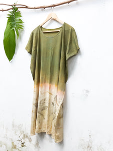 GARDEN OF TWIN STARS | Plant-Dyed Organic Cotton Tunic Dress