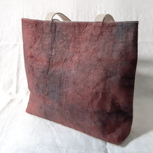 Load image into Gallery viewer, Barkcloth Artist Tote - Prose of Hibiscus 02