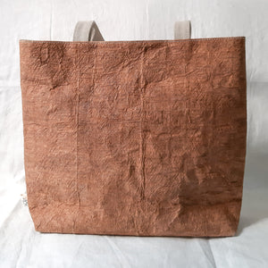 Barkcloth Artist Tote - Prose of Hibiscus 01