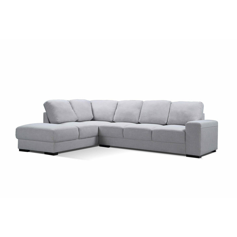 SOFA LHF 3S Chaise / Limestone Fabric BOSTON LARGE PACKAGE