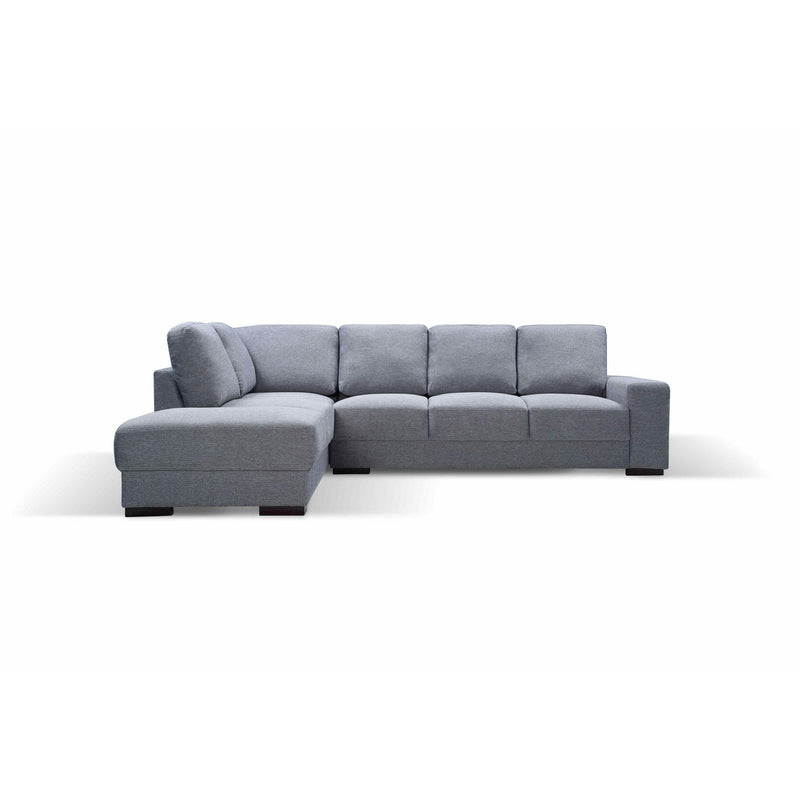 SOFA LHF 3S Chaise / Granite Fabric BOSTON LARGE PACKAGE
