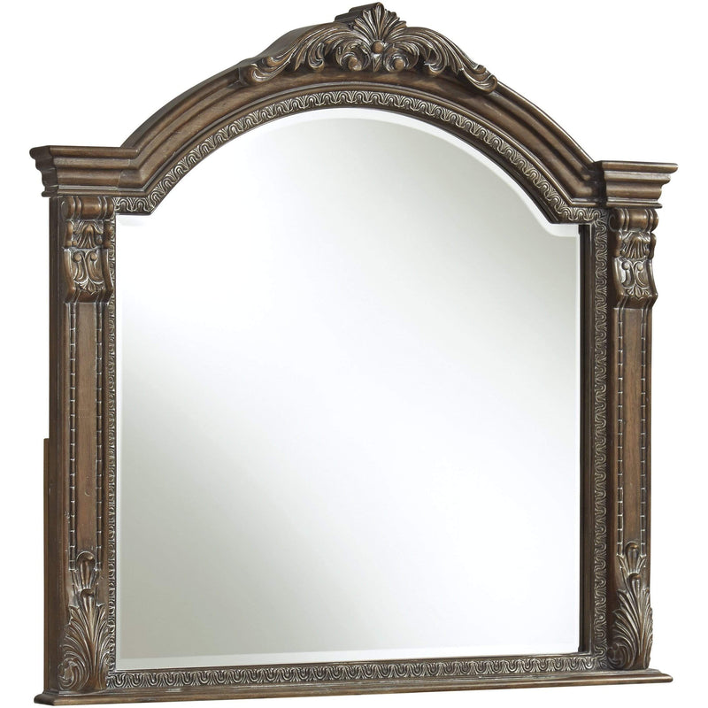 ASH Bedroom Mirror / Brown Charmond - Bedroom Mirror