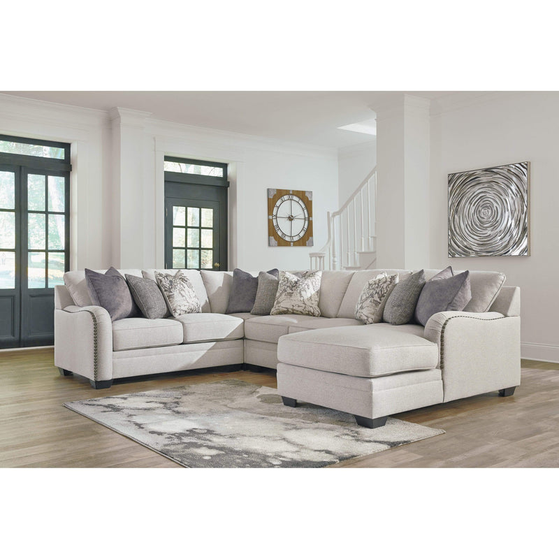 SOFA RHF Chaise Corner Lounge / Chalk Dellara - Lounge