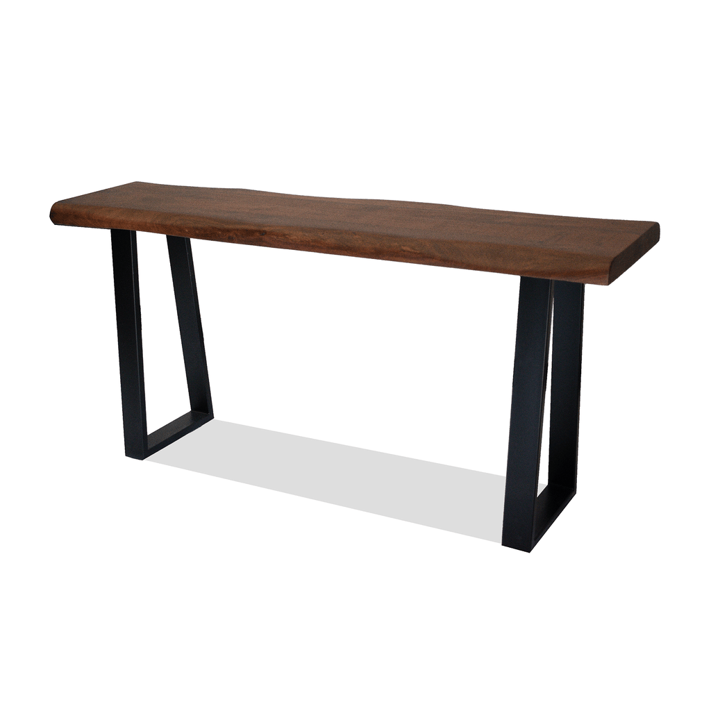 LIVING Console Table 1600 / Dark Brown Acacia - Timber Frasier - Console Table
