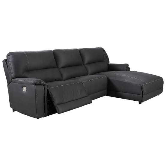 SOFA RHF Reclining Chaise Lounge / Midnight Fabric Henefer - Reclining Chaise Lounge