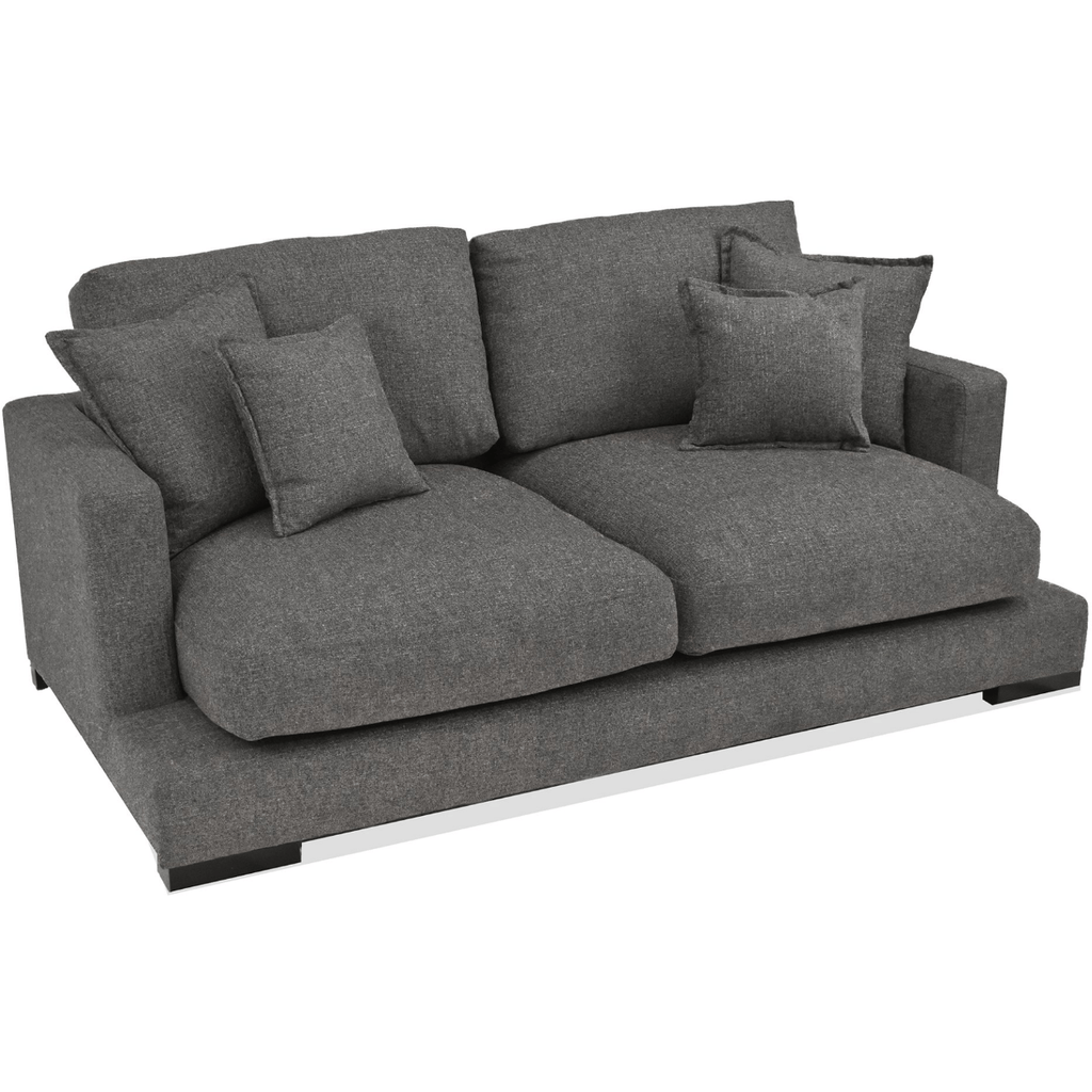 SOFA 2 Seater / Asphalt Dark Fabric Paige - 2 Seater Sofa
