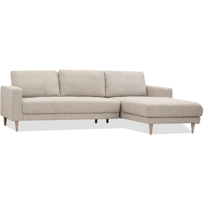 SOFA RHF Chaise / Onyx Fabric Pippen - Chaise Sofa