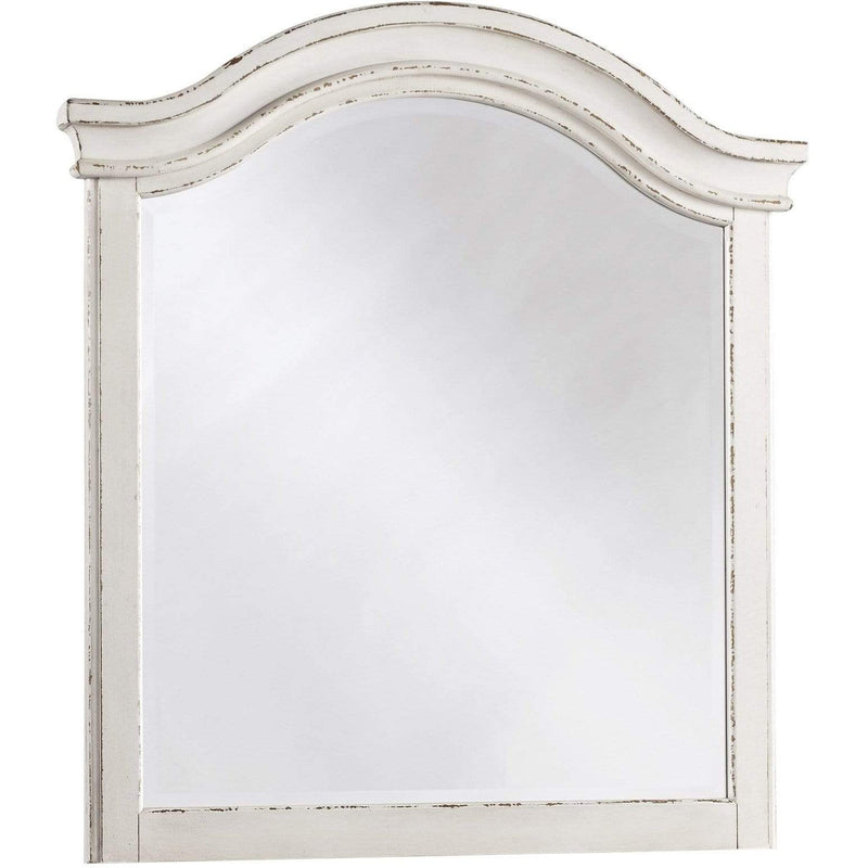 ASH Bedroom Mirror / Chipped White Realyn - Bedroom Mirror