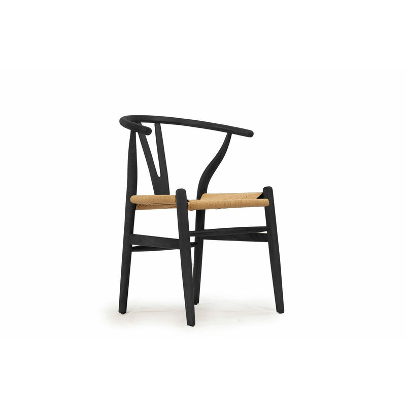 DINING CHAIR Dining Chair / Black Timber Rope - Dining Chair