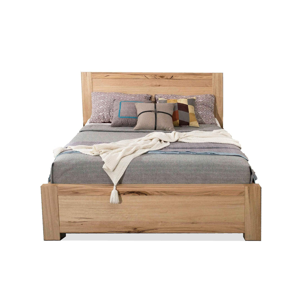 BED Queen Bed / Natural Messmate Timber Savannah - Queen Bed