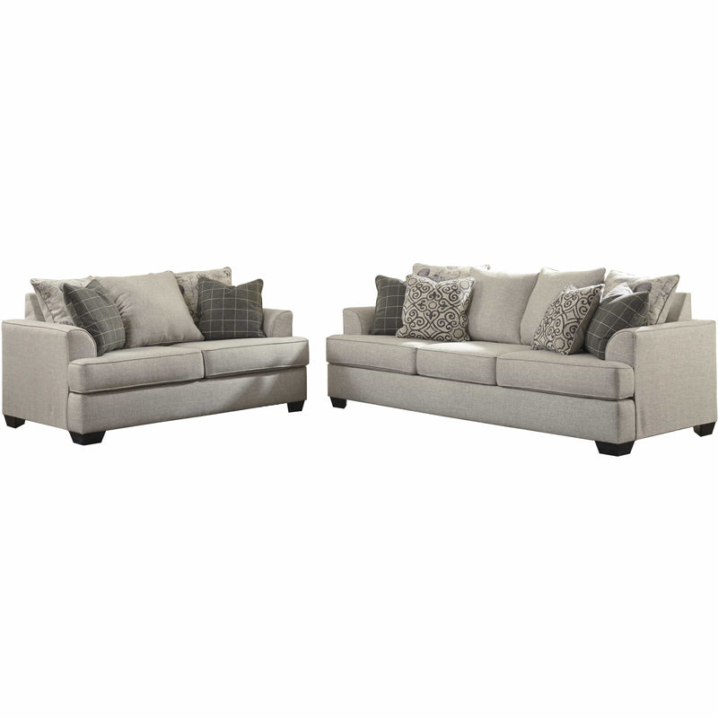 SOFA Loveseat / Pewter Velletri - Loveseat