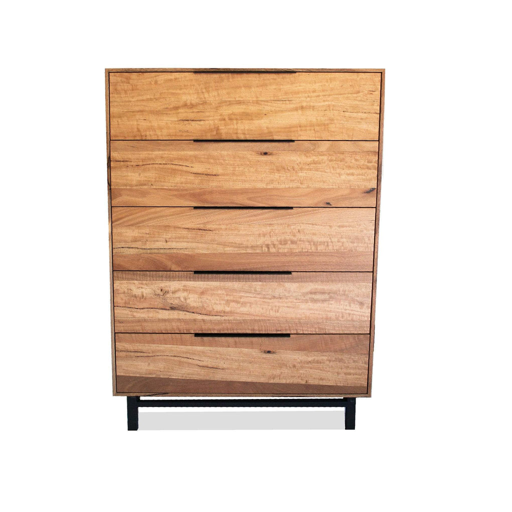 BEDROOM Tallboy / Natural Marri Timber Winston - Tallboy