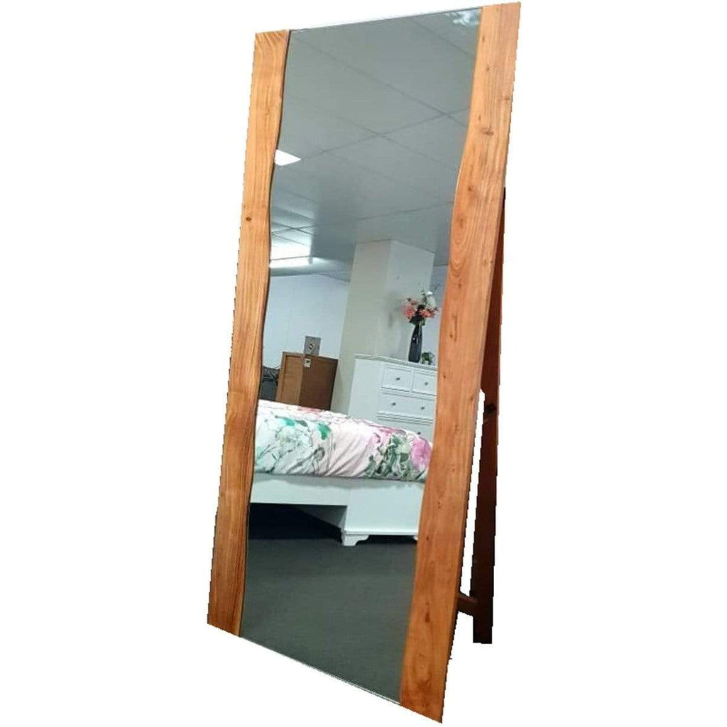 BEDROOM Tall Mirror / Natural Acacia - Timber Xavier - Mirror