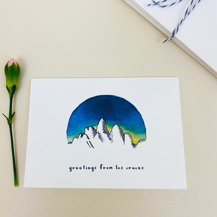 "Notecard Set - Organ Mountains ""Greetings from Las Cruces"""