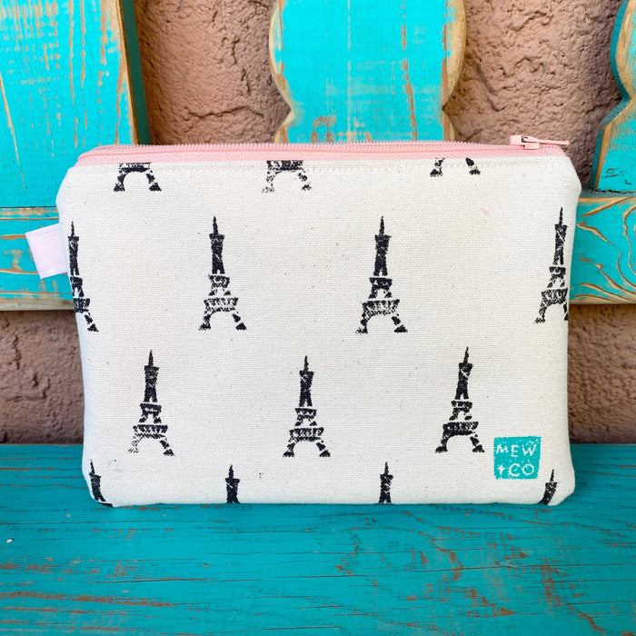 Sweet Pea Pouch - Eiffel Tower