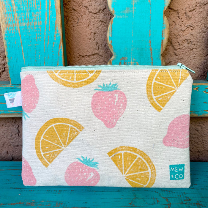 Sweet Pea Pouch - Berry Citrus