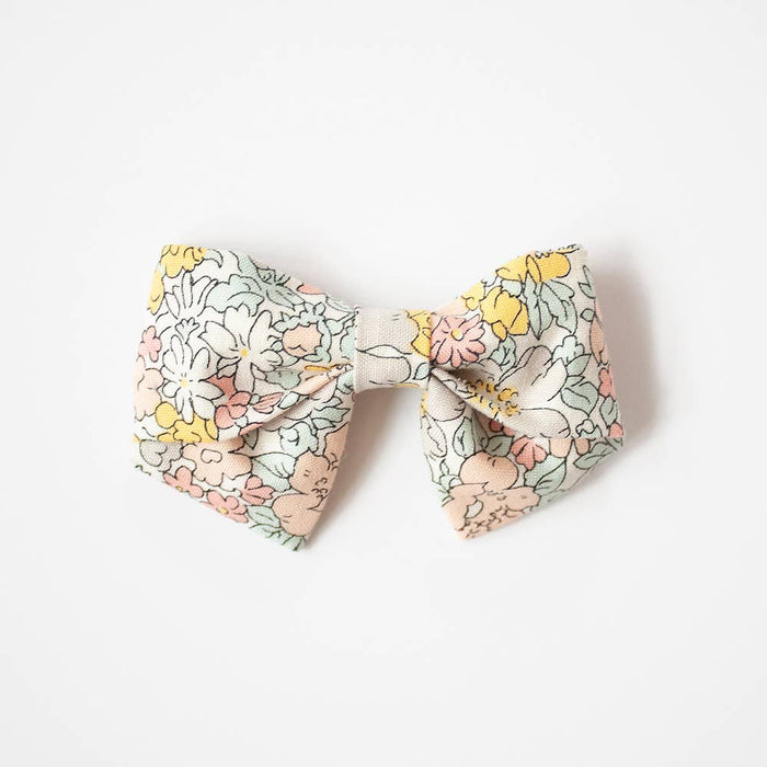 Medium Sailor Bows- Amelia, Alligator Clip