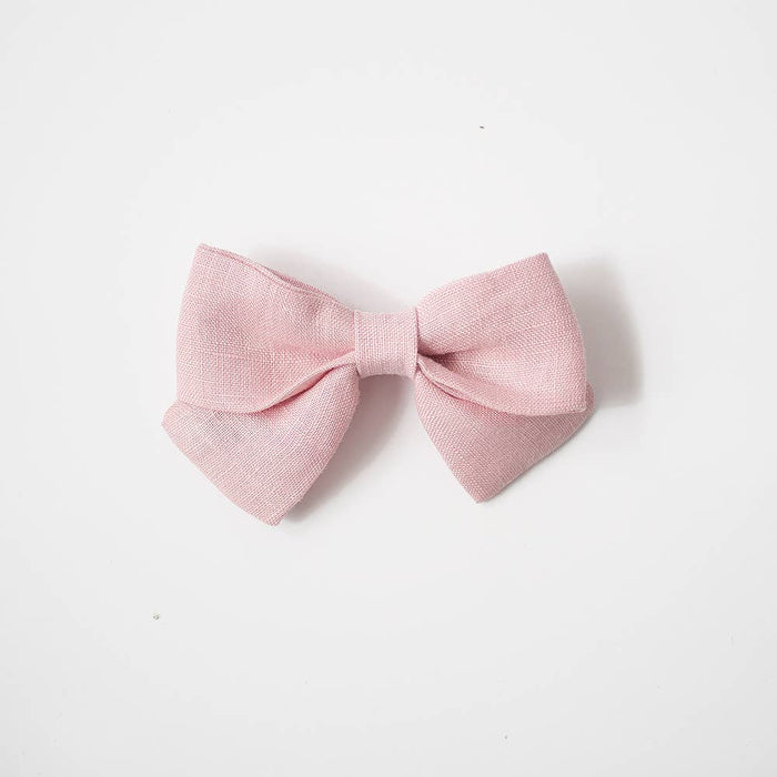Medium Sailor Bows- Ballerina, Alligator Clip