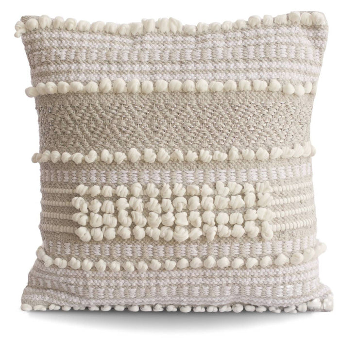 Moroccan Wedding Pillow-Gray