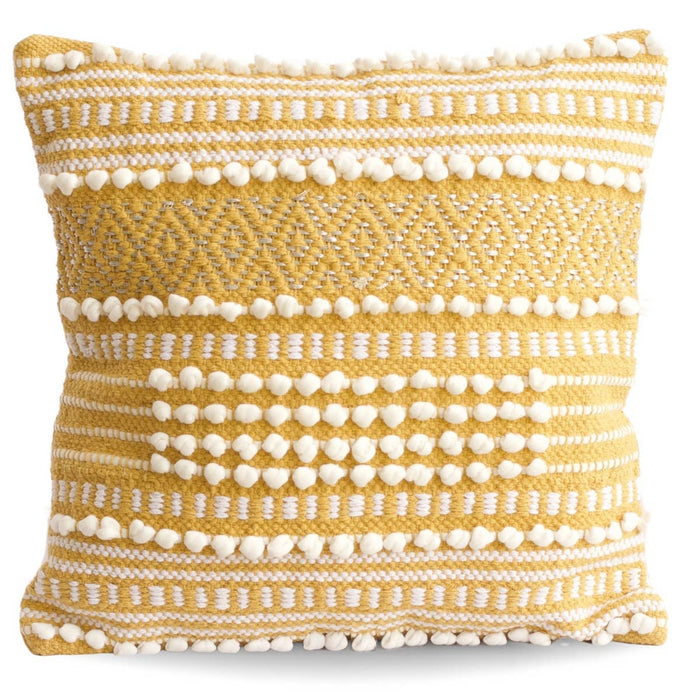 Moroccan Wedding Pillow- Yellow