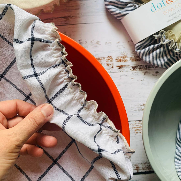 Reusable Fabric Bowl Covers- Classic