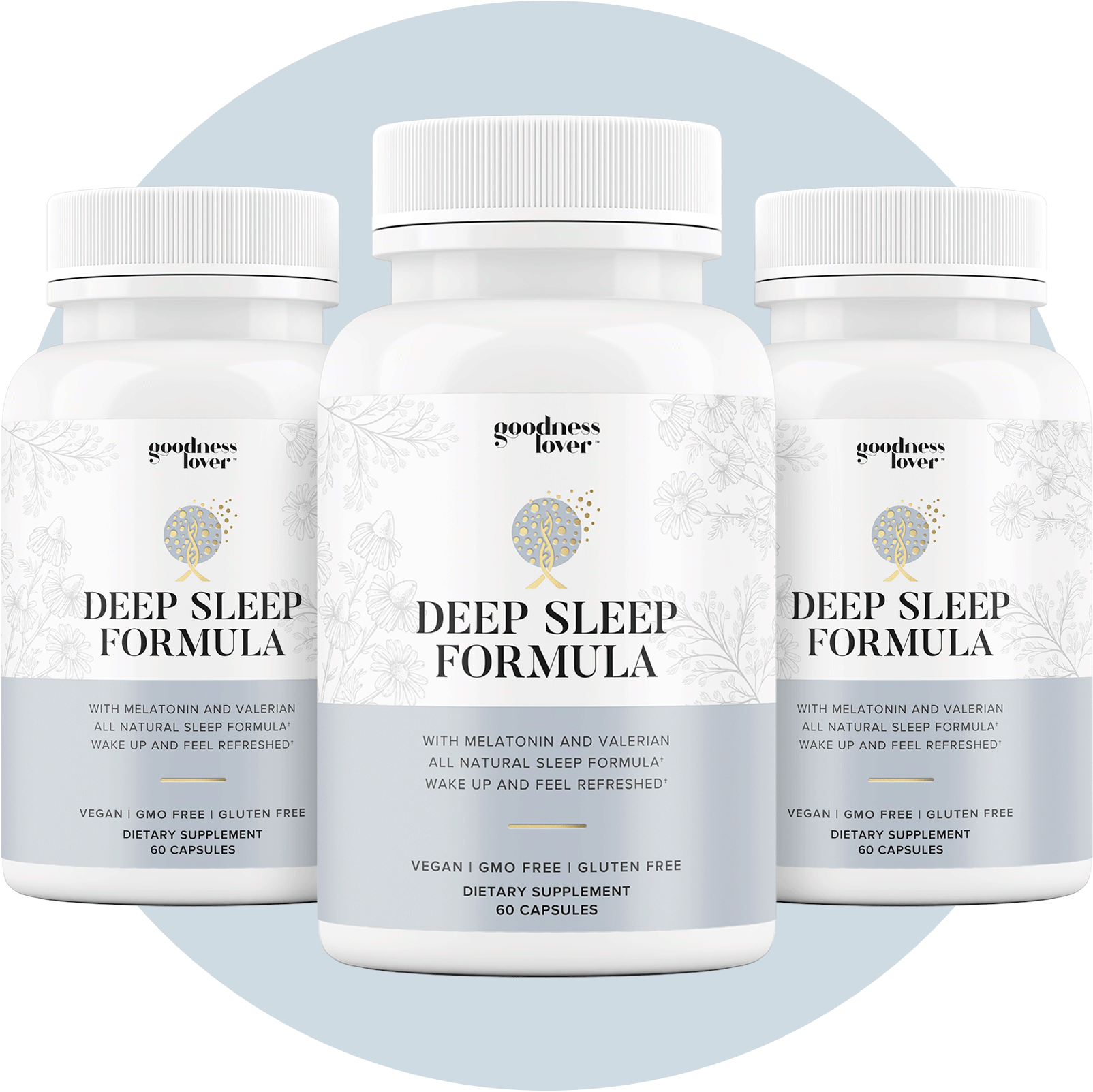Deep Sleep Formula [3 Bottles]