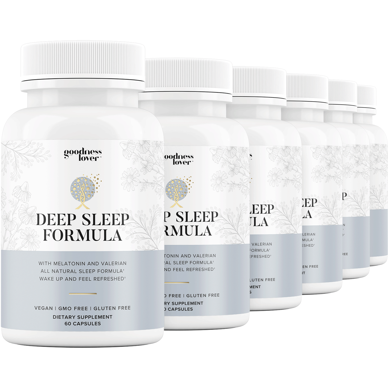 Deep Sleep Formula [6 Bottles]