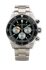 Seaholm Flats Chronograph Watch