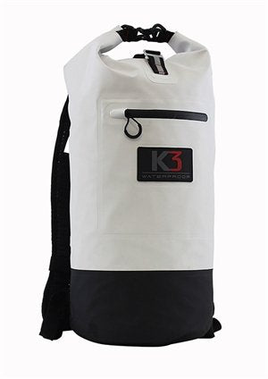K3 Surge Dry bag Backpack 20L White