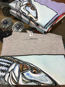 W Bonefish on Grey S/S