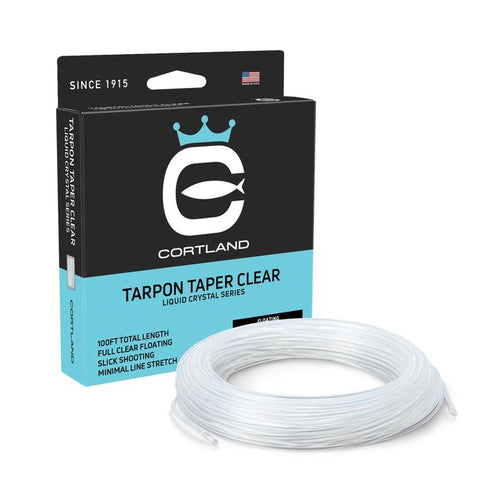 Cortland Liquid Crystal Clear Tarpon taper.