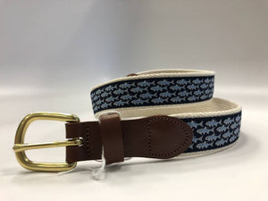 Tarpon School Motif Belt