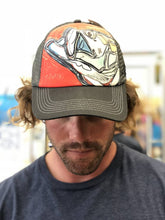 Load image into Gallery viewer, Tarpon on Red Foam Trucker Hat