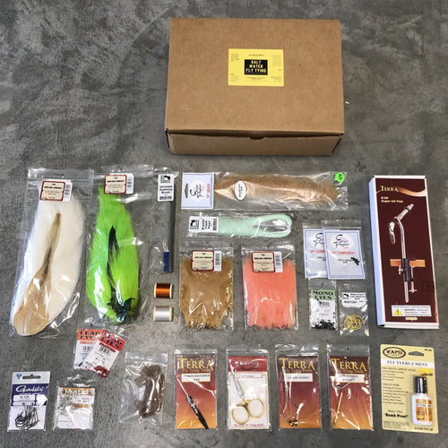 TAC Saltwater Fly Tying Kit