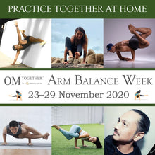 Load image into Gallery viewer, [Zoom] Modern Yoga Movement - Strength & Stability for Arm Balancing by Miles Maeda (75 min) at 9am Fri on 27 Nov 2020 - completed