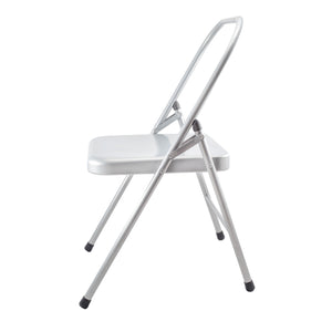 Salamba - Silver Metal Standard Yoga Chair (78 cm)