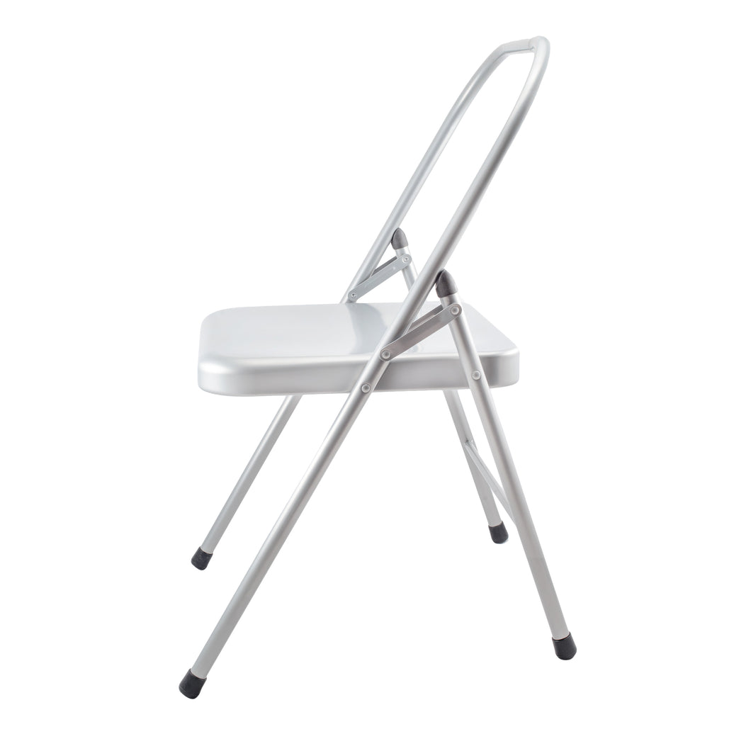 Salamba - Silver Metal Standard Yoga Chair (10 cm) – OMTOGETHER by