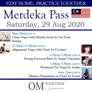 MERDEKA UNLIMITED PASS (29 Aug 2020) - up to 5 classes