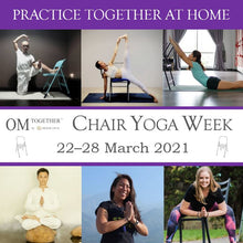 Load image into Gallery viewer, Fun with Chair - The Iyengar Way (75 min) at 9am Tue on 23 Mar 2021 -completed