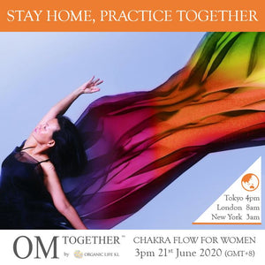 [Online] CHAKRA FLOW FOR WOMEN by Josephine Chan (60 min) at 3pm on 21 June 2020 -completed
