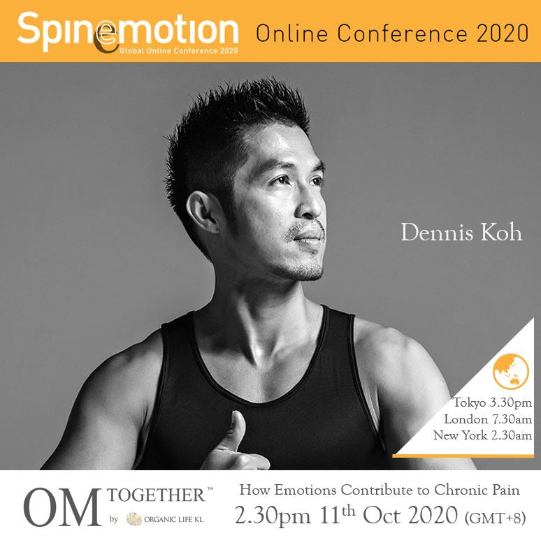 [Free talk]  How Emotions Contribute to Chronic Pain by Dennis (90 min) at 2.30pm Sun on 11 Oct 2020 -completed