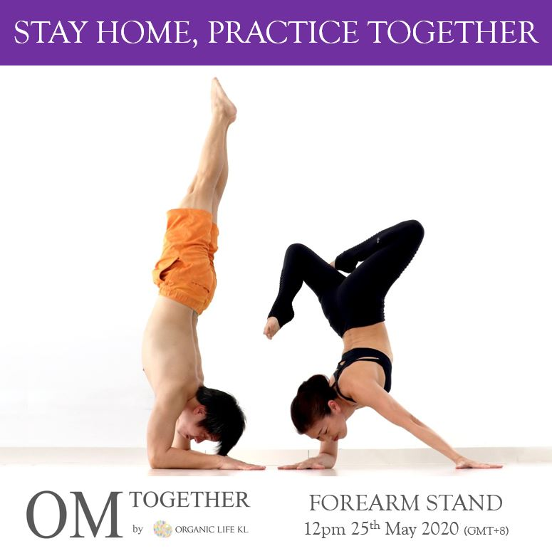 [Online] FOREARM STAND by Foo and Junko (75 min) at 12pm on 25 May 2020 (GMT+8)